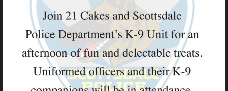 Cupcakes for K-9′s